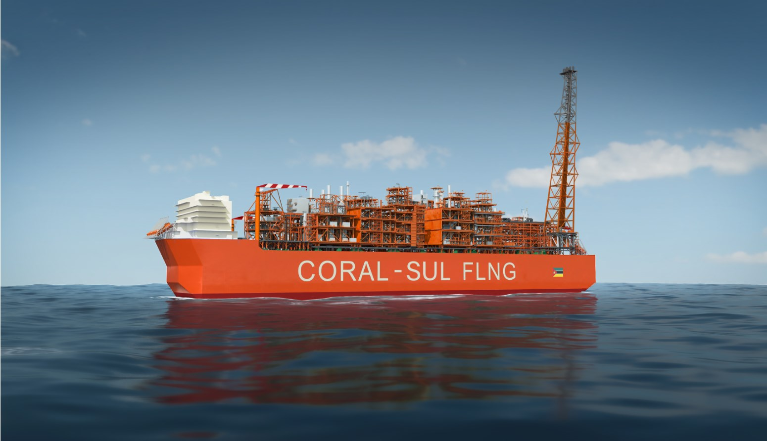 Mozambique : SOFEC engage Sonardyne, BMT pour Coral South FLNG